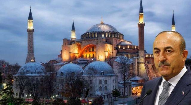Bakan Çavuşoğlu'ndan sert tepki: Ayasofya Türkiye'nindir