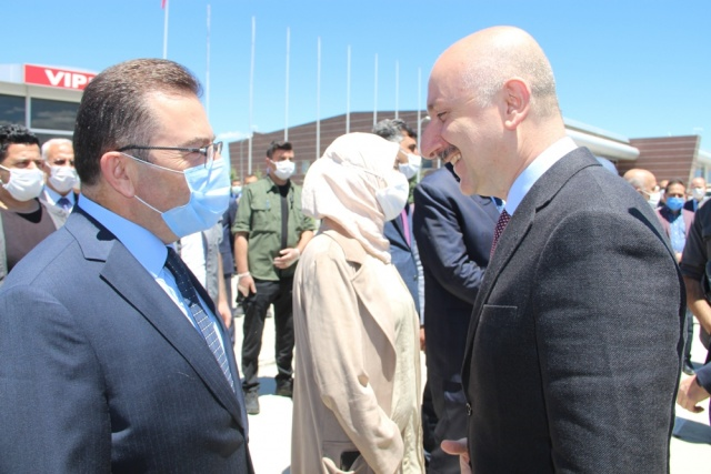 Bakanlar Pakdemirli ve Karaismailoğlu Erzurum'da