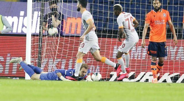 Başakşehir, evinde Galatasaray ile 1-1 berabere kaldı