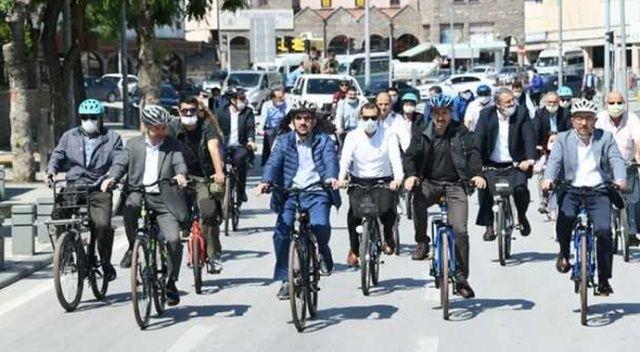 Bisiklet şehri Konya Türkiye'ye örnek oluyor