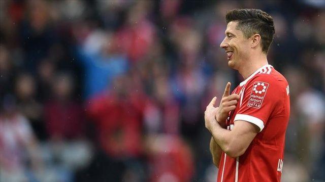 Bundesliga'da 'sezonun futbolcusu' Robert Lewandowski