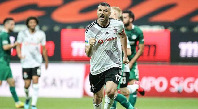 Burak Yılmaz Beşiktaş'taki en golcü dönemini yaşıyor