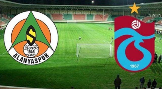 CANLI İZLE: Alanyaspor Trabzonspor şifresiz izle | Alanya TS maçı canlı skor kaç kaç?