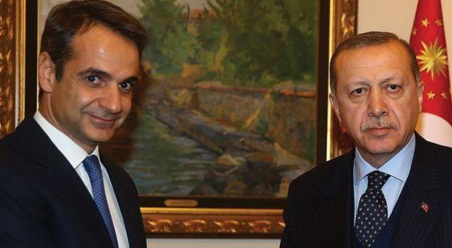 Cumhurbaşkanı Erdoğan, Yunanistan Başbakanı Miçotakis ile telefonda görüştü
