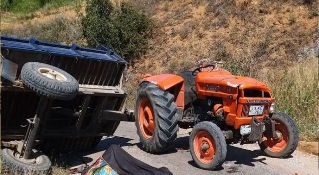 Feci kaza! Traktör devrildi, 2 kişi hayatını kaybetti
