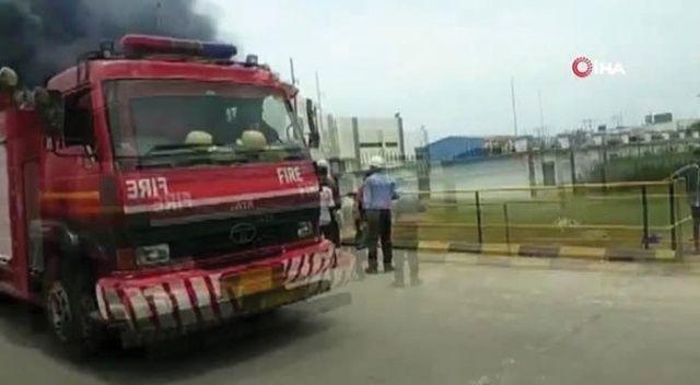 Hindistan'da kimya fabrikasında kazan patladı: 8 ölü, 50 yaralı