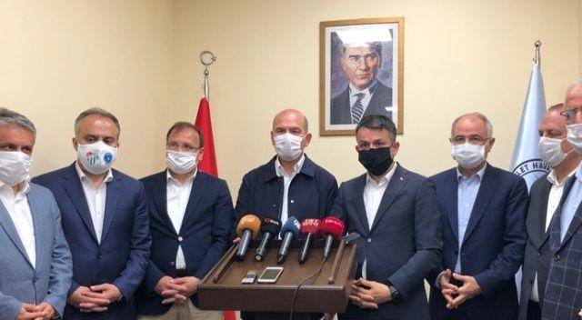 """İçişleri Bakanı Süleyman Soylu: """"Selde eşyaları zarar gören vatandaşlara 5 bin TL yardım yapılacak"""""""