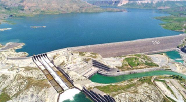 Ilısu Veysel Eroğlu Barajı'nda ikinci ünite de devreye  girdi