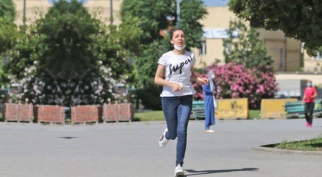 İmtihanın böylesi! Hayat maratonu
