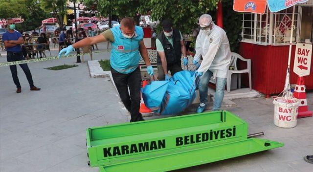 Karaman'da bir kişi, tuvalette ölü olarak bulundu