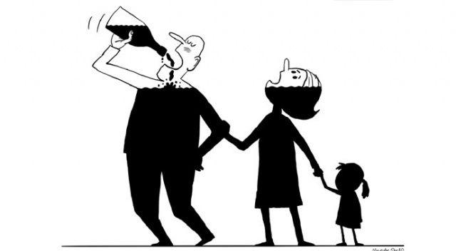 Karikatür sanatı bağımlılığa karşı