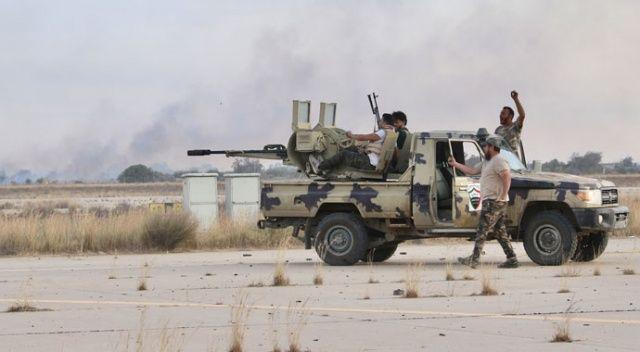 Libya ordusu Trablus Havalimanı'nı kurtardı