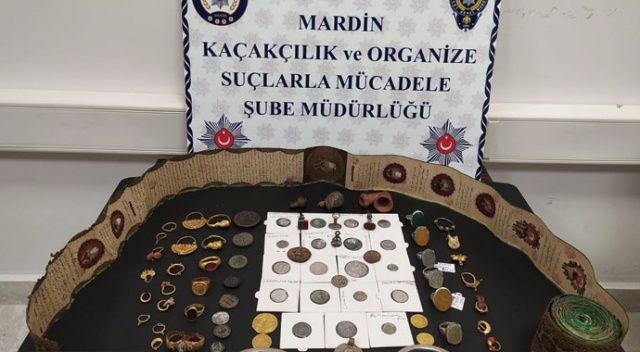 Mardin'de tarihte kullanılan ilk para örneği ele geçirildi