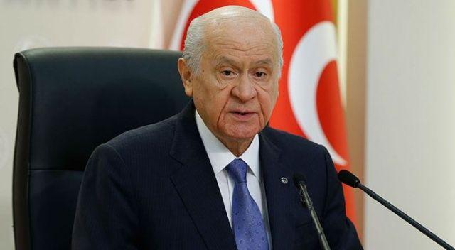 MHP Genel Başkanı Bahçeli: Sınırlarımızda yıkım müteahhitliğine heveslenmek skandal bir tertiptir