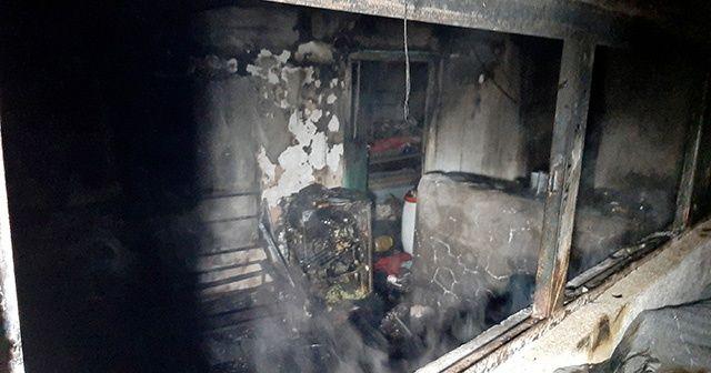 Muğla'da içinde bulunduğu evi yaktığı iddia edilen kişi öldü