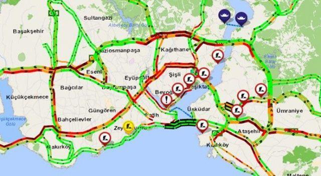 Normalleşme sürecinin ilk mesai bitiminde İstanbul trafiği