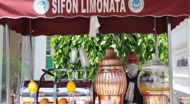 Sifon limonatacılar da tezgahlarını açtı