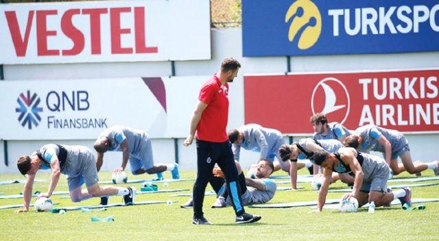 Trabzonspor'un yıldızı Abdülkadir Parmak, 'iki kupa' dedi