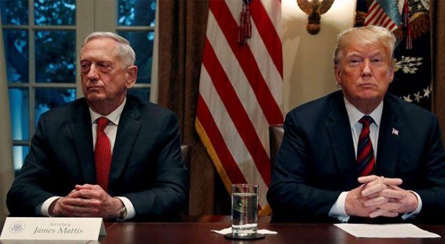 Trump ile eski Savunma Bakanı Mattis arasında protesto polemiği