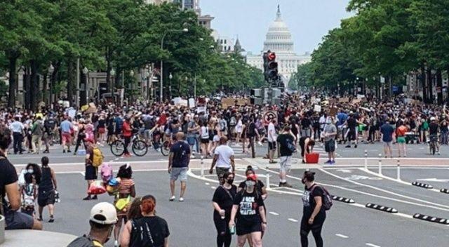Washington'da Floyd protestoları yeniden hareketlendi
