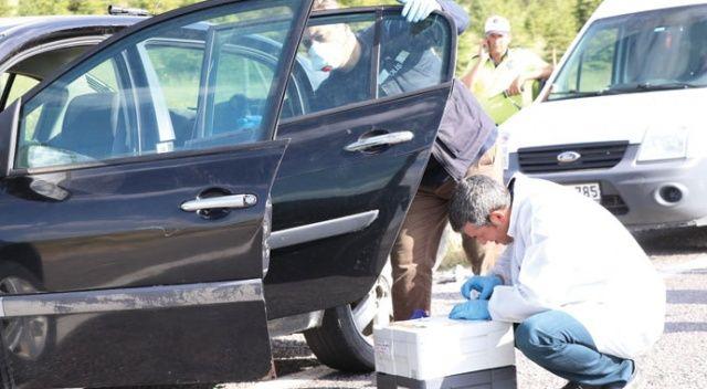 Yengesinin otomobilini çaldı, Niğde'de yakalandı