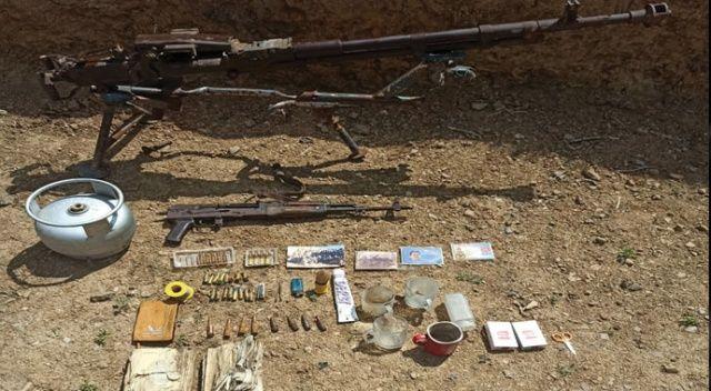 Yüksekova'da silah ve mühimmat ele geçirildi