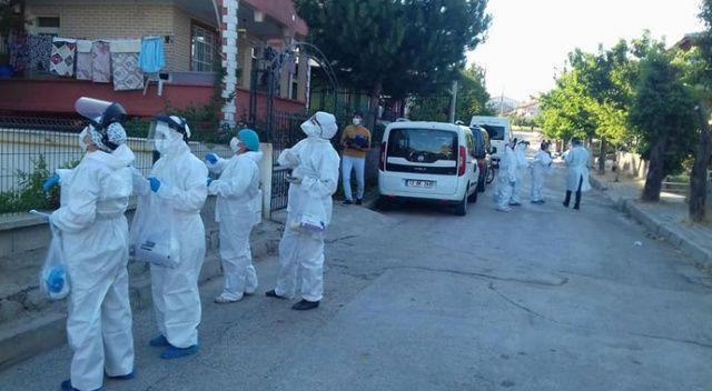 12 pozitif vaka tespit edildi, bazı cadde ve sokaklar karantinaya alındı