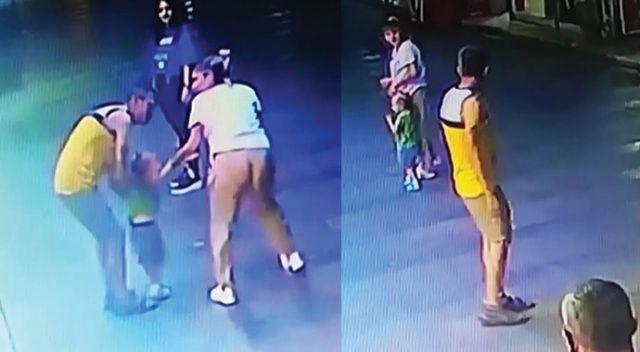 2.5 yaşındaki çocuğu kaçıracakken annesi fark etmişti... O zanlıdan pes dedirten savunma