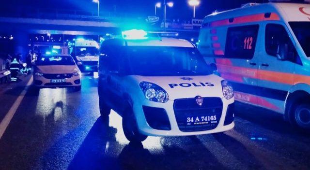 Alkollü sürücü zincirleme kazaya neden oldu: 1 yaralı