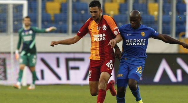 Ankaragücü, evinde Galatasaray'ı 1-0 mağlup etti