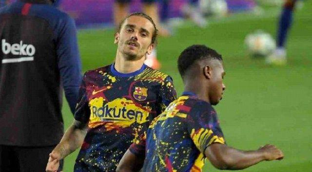 Barcelona'da Griezmann şoku