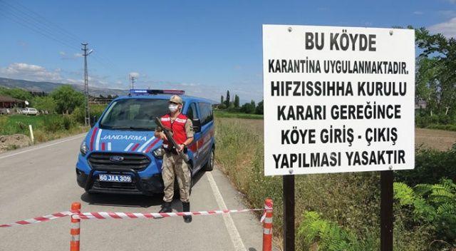 Bin 392 nüfuslu köy, Kurban Bayramı arefesinde karantinaya alındı