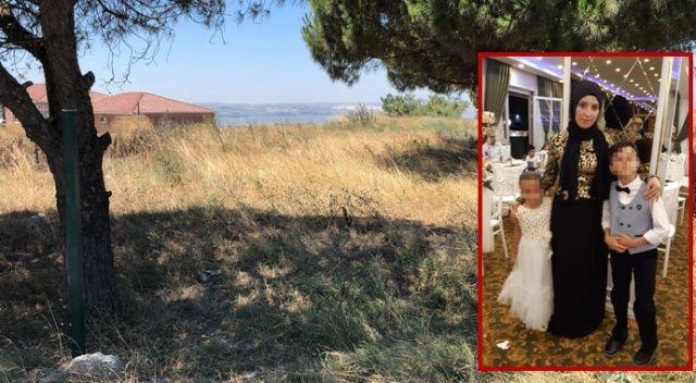 Büyükçekmece'de dehşet! Barışma teklifini reddeden eşini ağaçlık alanda vurarak öldürdü