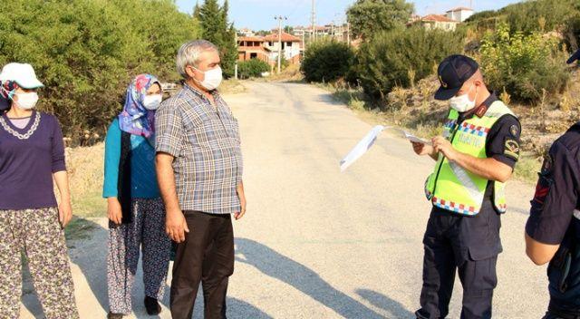 Çok sayıda kişinin karantinaya alındığı mahallede tedbirler artırıldı