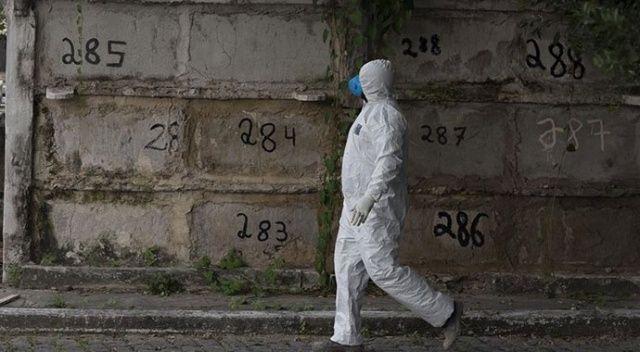 Covid-19'dan son 24 saatte Brezilya'da 602, Hindistan'da 425 kişi öldü