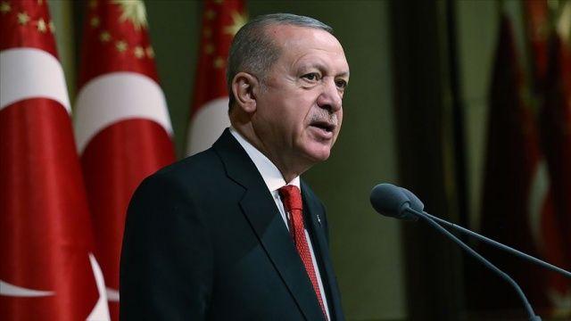 Cumhurbaşkanı Erdoğan: 15 Temmuz gecesi bu millete zincir vurmayı tekrar denediler ve başaramadılar