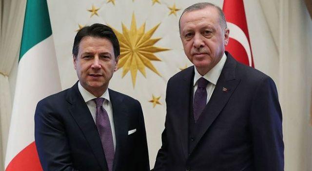 Cumhurbaşkanı Erdoğan, İtalya Başbakanı Conte ile telefonla görüştü