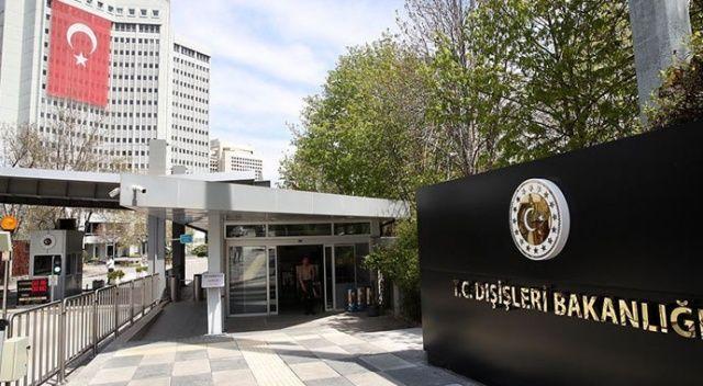 Dışişleri Bakanlığı'ndan ABD'ye Osman Kavala tepkisi