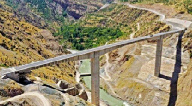 En yüksek köprü yarın açılıyor
