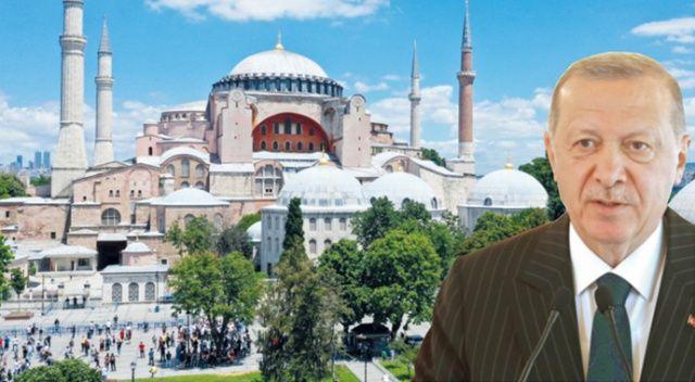 Erdoğan: Ayasofya iç meselemiz karar milletimizindir