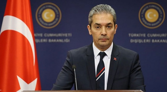 Hami Aksoy'dan AB Yüksek Temsilcisi Borrell'in açıklamalarına tepki