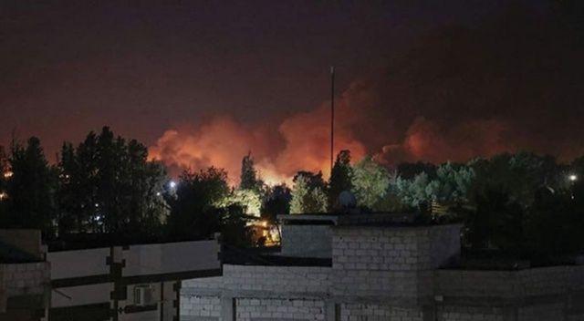 Haseke'de terör örgütü PKK/YPG'ye ait silah deposunda art arda patlama