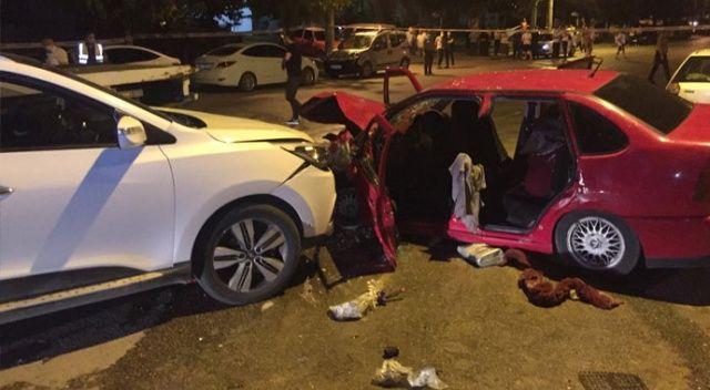 Hatalı sollama kaza getirdi: 1 ölü, 5 yaralı