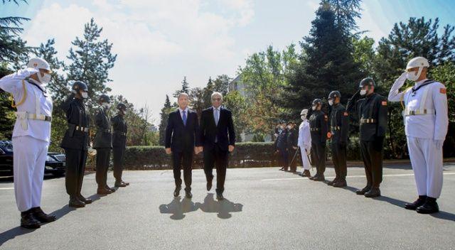 Hulusi Akar, Malta ve Libya içişleri bakanlarıyla görüştü