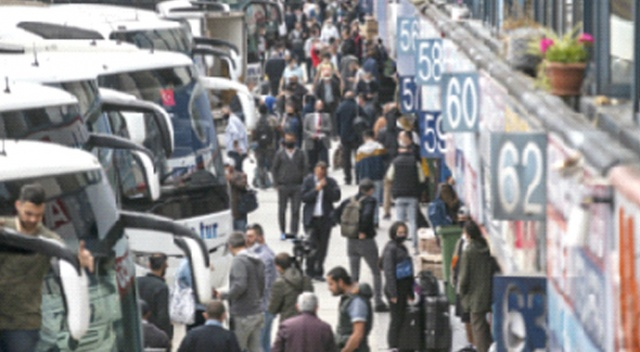 İstanbul'dan Anadolu'ya her gün 1.150 otobüs