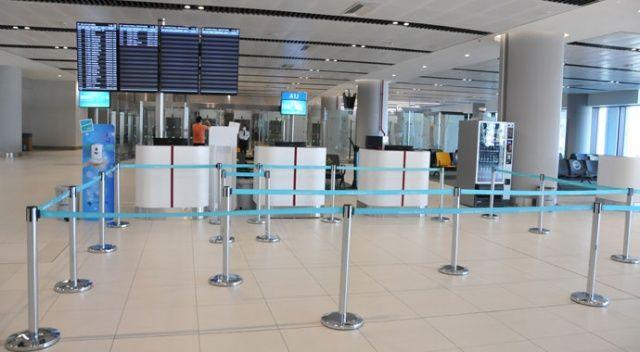 İstanbul Havalimanı'nda koronavirüs test merkezi açıldı