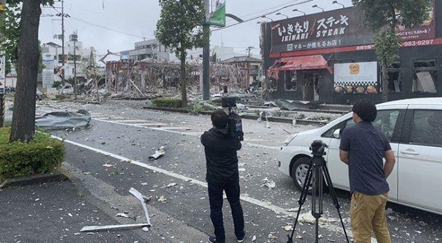 Japonya'da restoranda patlama: 1 ölü, 18 yaralı