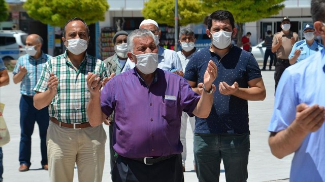 Karaman'da 'Ayasofya' için şükür duası