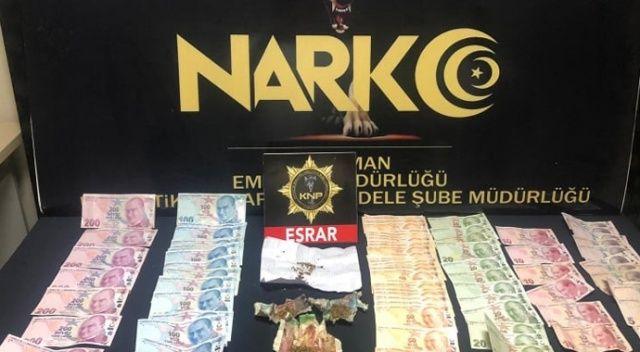Karaman'da uyuşturucu operasyonunda gözaltına alınan 2 kişi tutuklandı