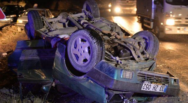 Karamanmaraş'ta otomobiller çarpıştı: 5 yaralı